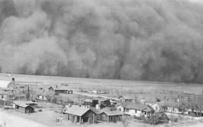 The DUST BOWL – a CLIMATE DISASTER.