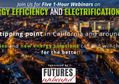 Webinar Series on Energy Efficiency