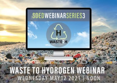 SDED Webinar – Waste to Energy